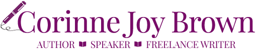 Author Corinne Joy Brown Logo